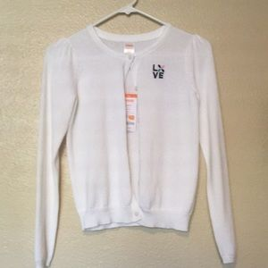 Other - White  Sweater size 10 to 12 large